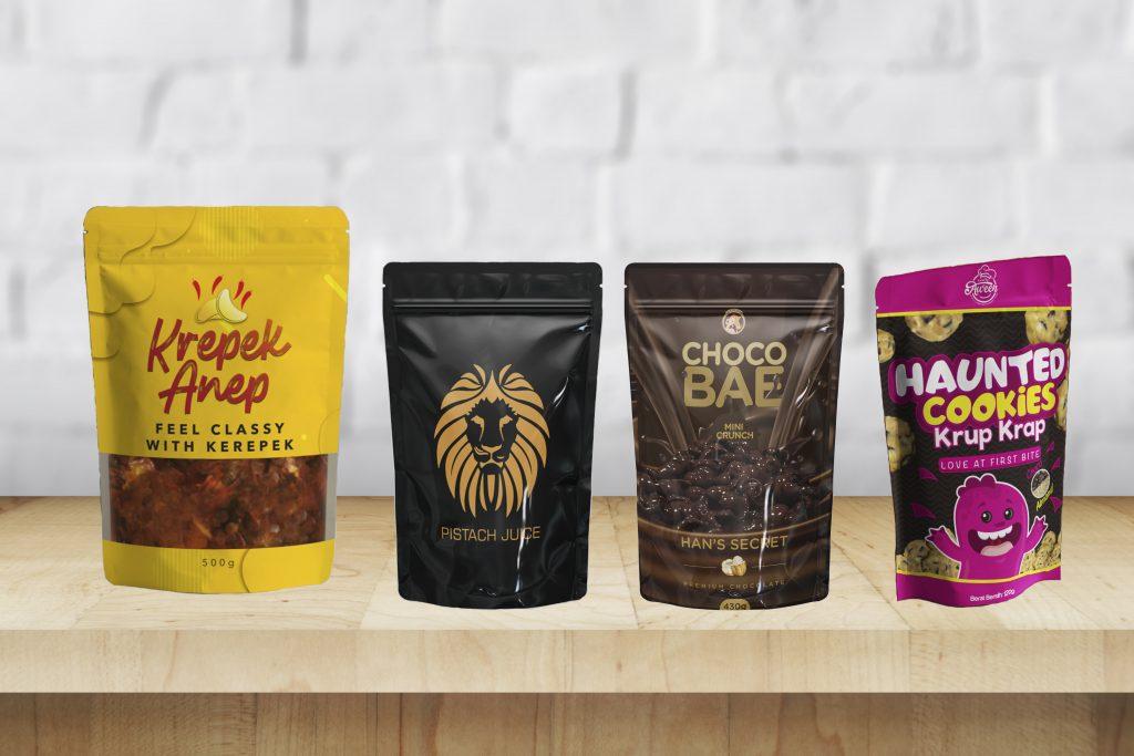 Pembungkus Makanan Berlaminasi - Harga Runcit Plastik Beg Makanan