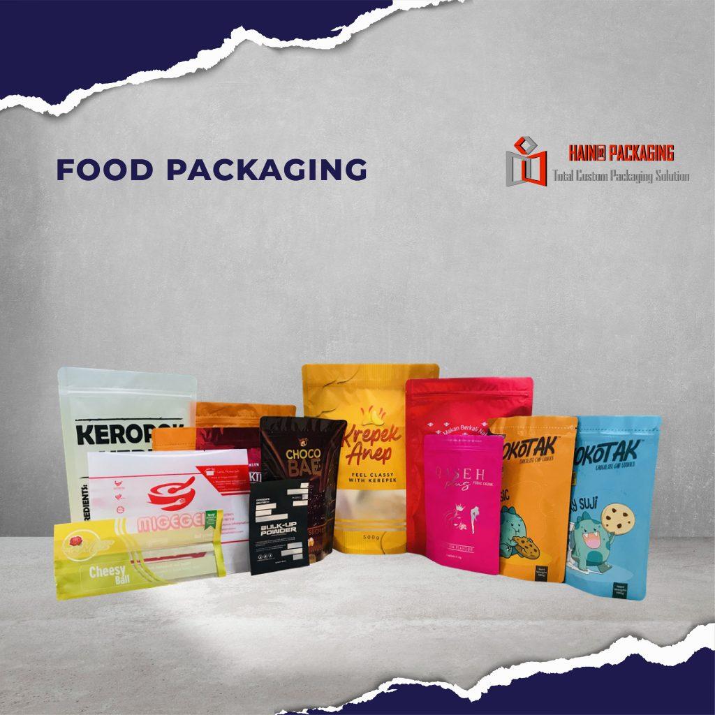 Packaging Makanan: Kilang Packaging Plastik Makanan