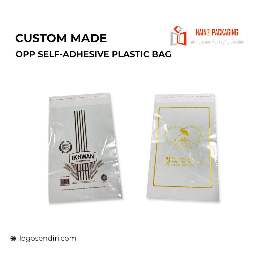 OPP Plastic Bag – Plastic Jernih