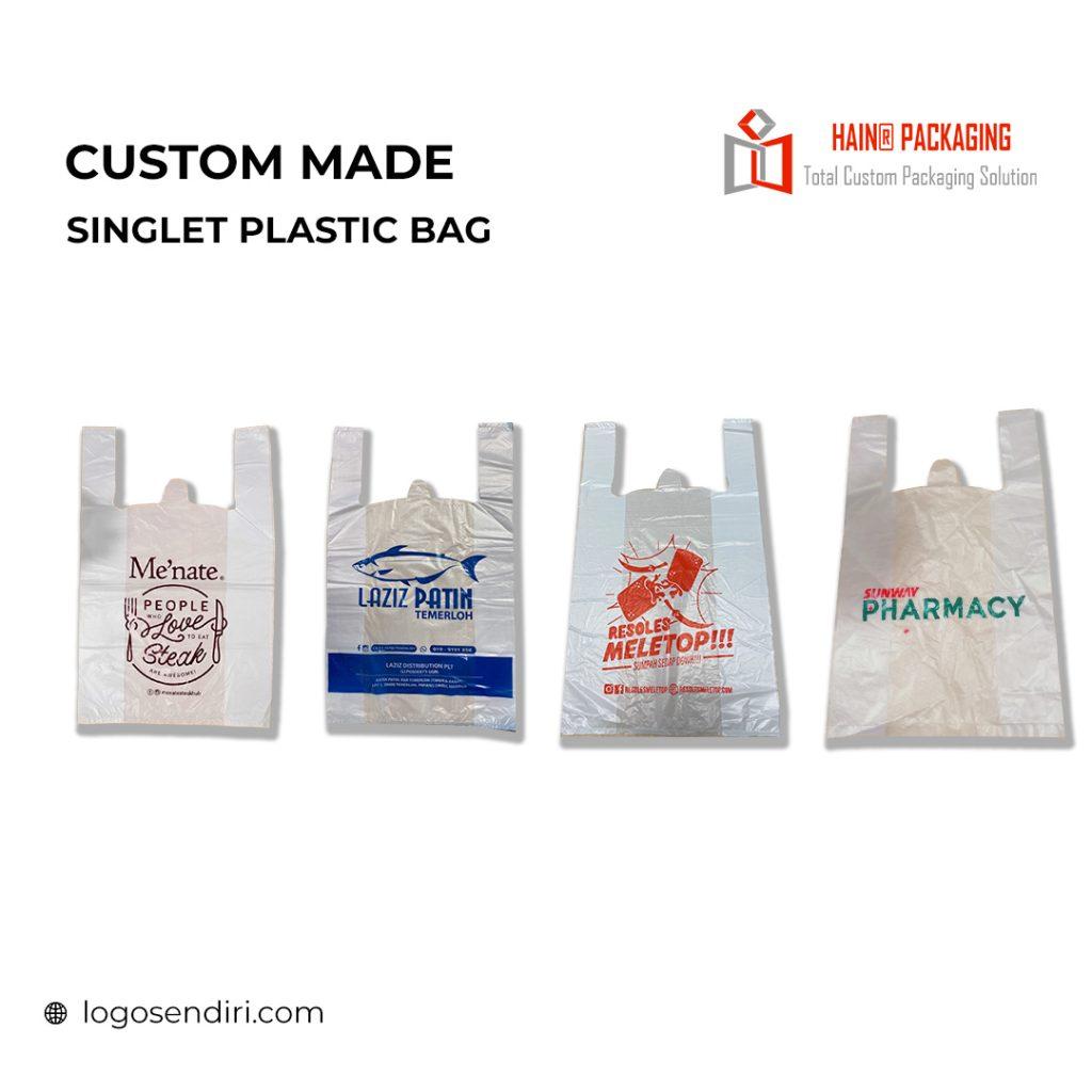 Singlet Plastic Bag – Print Plastik