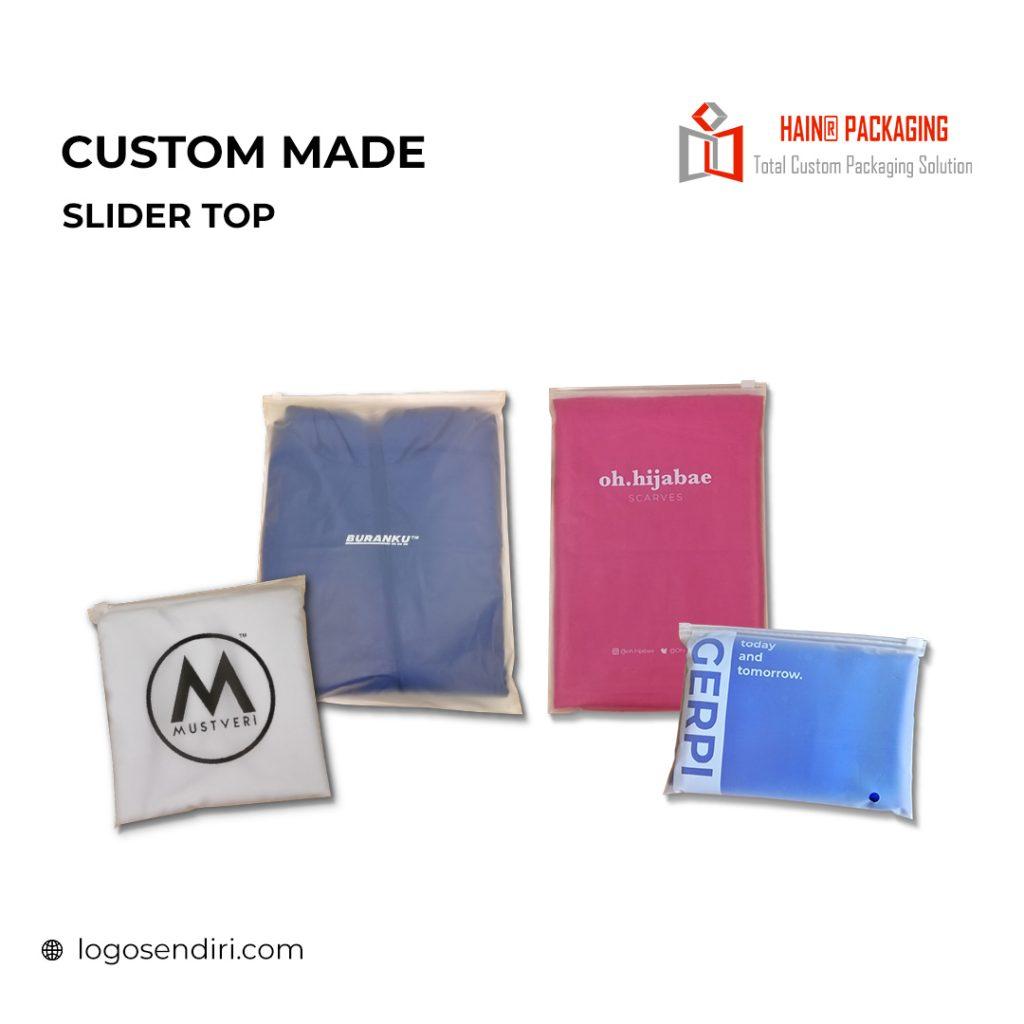 Slider Top Ziplock Bag – Saiz Plastik Ziplock