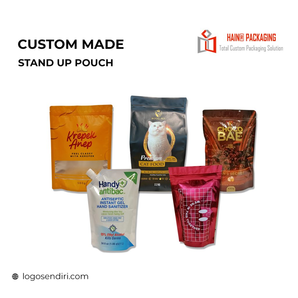 Stand Up Pouch – Plastic Bag Manufacturer Malaysia