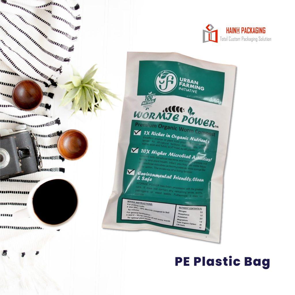 PE Plastic Bag – Size Plastik